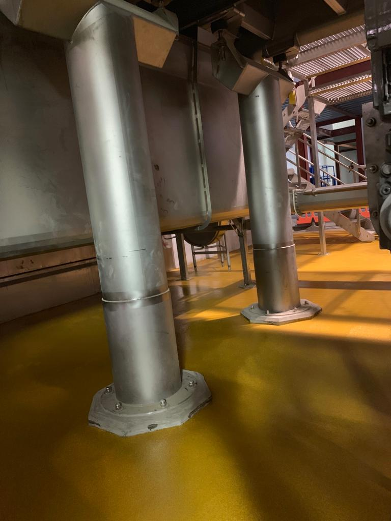 yellow floor machines again